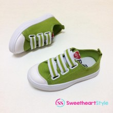 CLEARANCE- COLOURFULL SNEAKERS (GREEN)