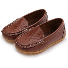 CNY SALES: LOAFER PLAIN (BROWN)
