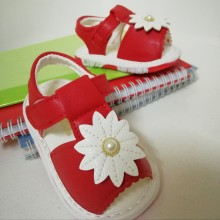 SANDAL WITH SOUND (FLOWER RED)