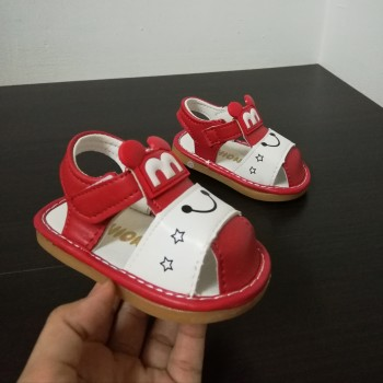 SANDAL WITH SOUND M (RED)