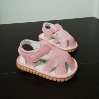 SANDAL WITH SOUND PLAIN (PINK)