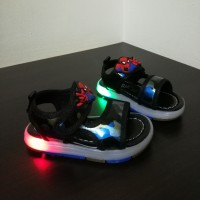 LAMP SANDAL SPIDERMAN (BLUE)