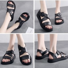 WOMEN - SLING SANDAL (BLACK)