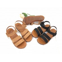 WOMEN - STRAP SANDAL (BROWN)