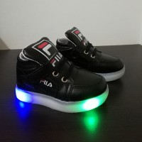Y-LAMP HI CUT FILA (BLACK)
