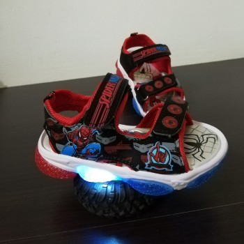 LAMP SANDAL SPIDERMAN SS1 (RED)