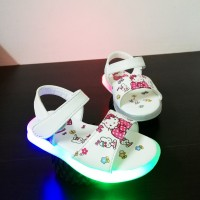 Z-LAMP SANDAL HELLO KITTY (WHITE)