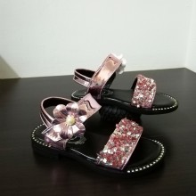 CLEARANCE- SANDAL FLOWER MIRROR (PINK)
