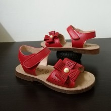 CLEARANCE SALES: SANDAL RIBBON (RED)