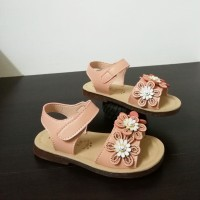 SANDAL FLOWER (PEACH)