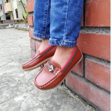 CNY SALES: LOAFER BEE (BROWN)