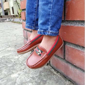 LOAFER BEE (BROWN)