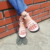 HIGH CUT SANDAL (PINK)