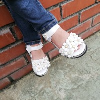 SANDAL FLOWER AA3 (WHITE)