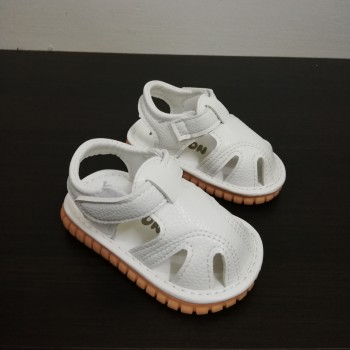 Z-SANDAL WITH SOUND PLAIN (WHITE)