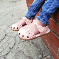 HALF SHOES SANDAL (DUSTY PINK)