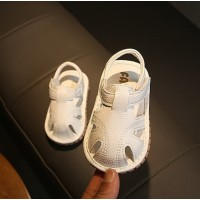 SANDAL WITH SOUND PLAIN (WHITE)