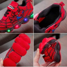 LAMP SHOES SPIDER-MAN (RED)