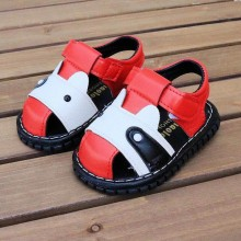 SANDAL WITH SOUND (CAT RED)