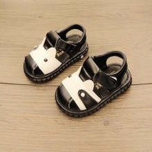 SANDAL WITH SOUND (CAT BLACK)
