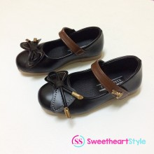 CLEARANCE- DOLLS SHOES (BLACK)