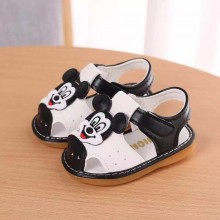 SANDAL WITH SOUND (MiCKEY BLACK)