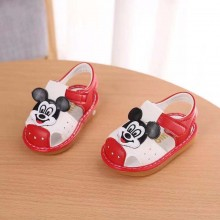 SANDAL WITH SOUND (MiCKEY RED)