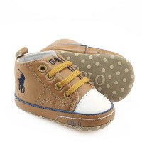 PREWALKER HI CUT POLO (BROWN) KILAT