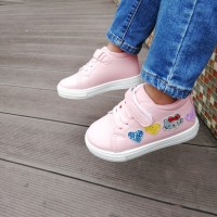 HI CUT SNEAKERS HELLO KITTY (PINK)