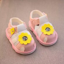 Z-SANDAL WITH SOUND FLOWER (PINK)