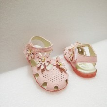 HALF SHOES FLOWER 3 (PINK)