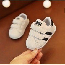 ADIDAS SNEAKERS SMALL SIZE (BLACK)
