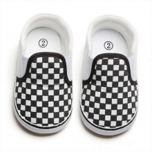 PREWALKER CHECKERED (BLACK)