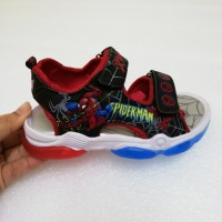 LAMP SANDAL SPIDERMAN RAYA EDITION (RED)