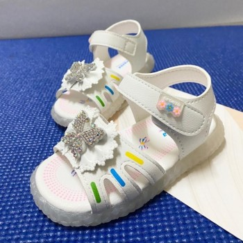 CLEARANCE SALES: LAMP SANDAL BUTTERFLY (WHITE)