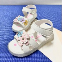 LAMP SANDAL FLOWER (WHITE)