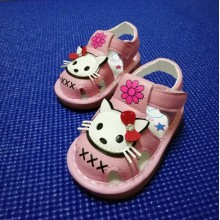 SANDAL WITH SOUND HELLO KITTY (PINK)