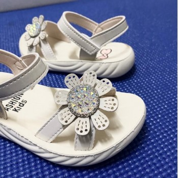 CLEARANCE SALES: SANDAL SUNFLOWER (WHITE)