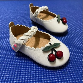 CLEARANCE  SALES: CHERRY SHOES (WHITE)