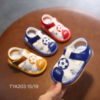 SANDAL WITH SOUND BALL (BLUE)