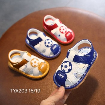 CLEARANCE SALES: SANDAL WITH SOUND BALL (BLUE)
