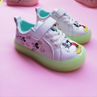 LAMP SHOES MICKEY (WHITE)