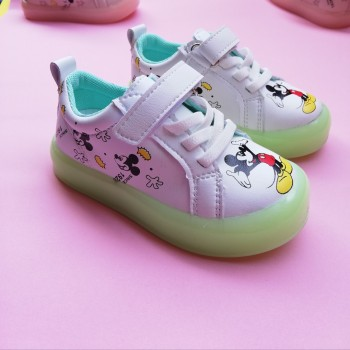 CLEARANCE SALES: LAMP SHOES MICKEY (WHITE)