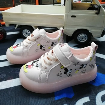CLEARANCE SALES: LAMP SHOES MICKEY (PEACH)