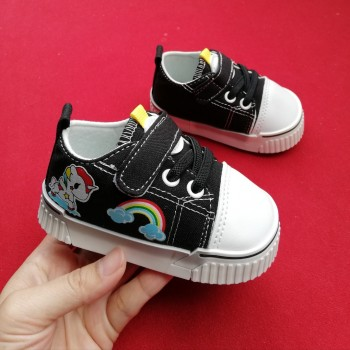 CLEARANCE SALES: LITTLE PONY SNEAKERS (BLACK)
