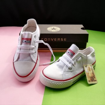 CONVERSE SNEAKERS (WHITE)