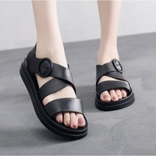 CNY SALES:  WOMEN SLING SANDAL (BLACK)