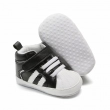 PREWALKER HI CUT ADIDAS (BLACK)
