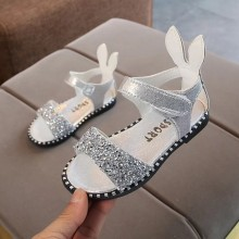CLEARANCE SALES: SANDAL GLITTER (SiLVER)