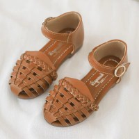 RAYA EDITION: HALF SHOES (BROWN)